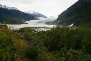Mendenhall Glacier, Juneau, Alaska - . Photo: dbaron, used under Creative Commons License (By 2.0)