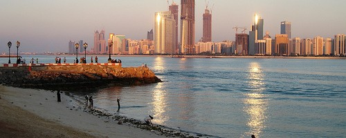 Abu Dhabi, United Arab Emirates. Photo: slleong, used under Creative Commons License (By 2.0)