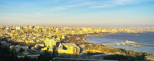 Baku, Azerbaijan. Photo: teuchterlad, used under Creative Commons License (By 2.0)