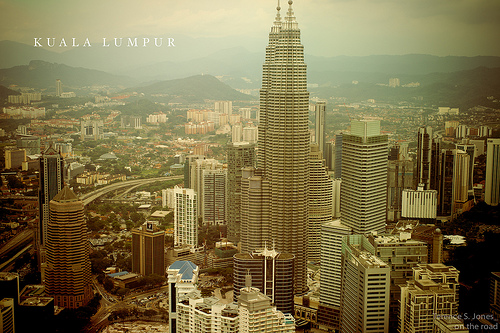 Kuala Lumpur, Malaysia - Photo: Terence S. Jones, used under Creative Commons License (By 2.0)