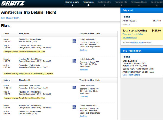 $628 from Seattle to Amsterdam!!!!