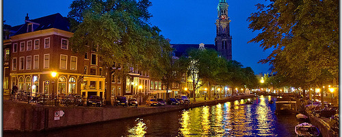 Amsterdam at Night - Photo: Moyan_Brenn, used under Creative Commons License (By 2.0)