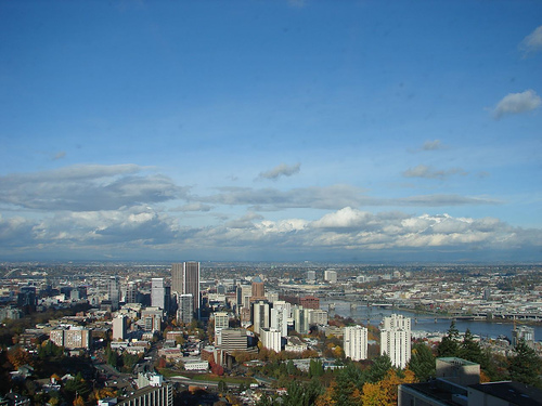 Portland, Oregon Photo: Jami Dwyer, used under Creative Commons License (By 2.0)