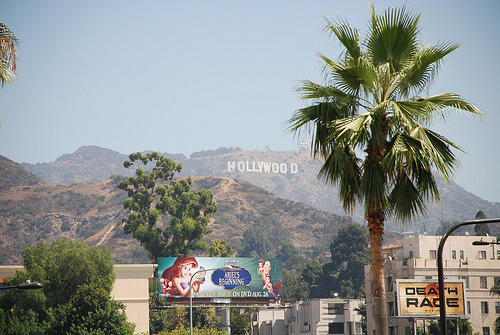 Hollywood sign, Los Angeles, California. Photo: Mot the barber, used under Creative Commons License (By 2.0)
