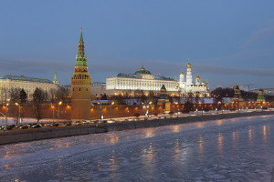 "Kremlin, Moscow, Russia - Photo: Pavel ""KoraxDC"" Kazachkov, used under Creative Commons License (By 2.0)"