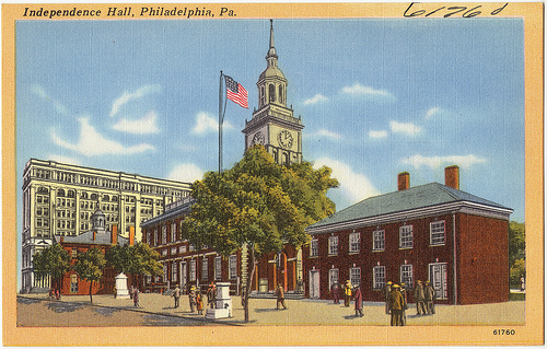 Independence Hall, Philadelphia - Photo: Boston Public Library, used under Creative Commons License (By 2.0)
