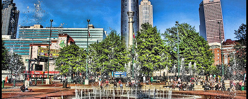 Centennial Olympic Park, Atlanta, Georgia. - Photo: Lima Pix, used under Creative Commons License (By 2.0)