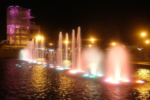 Dancing Fountains, Chihuahua, Mexico - Photo: Edgar Galindo, used under Creative Commons License (By 2.0)