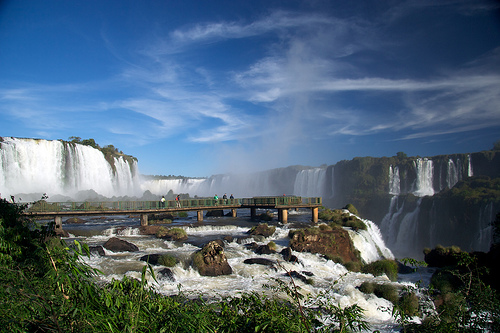 Iguazu Fallas, Brazil - Photo: markg6, used under Creative Commons License (By 2.0)