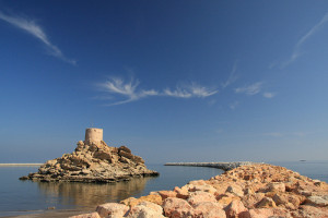 Al Sahel Fort, Quriyat, Muscat, Oman - Photo: yeowatzup, used under Creative Commons License (By 2.0)