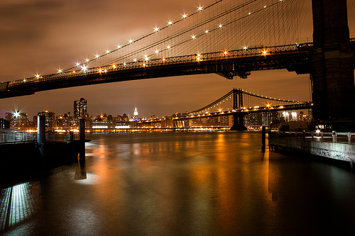 Manhattan and Brooklyn Bridge, New York City - Photo: Carsten Lorentzen, used under Creative Commons License (By 2.0)