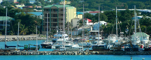 Great Bay, St. Maarten Photo: pfarrell95, used under Creative Commons License (By 2.0)