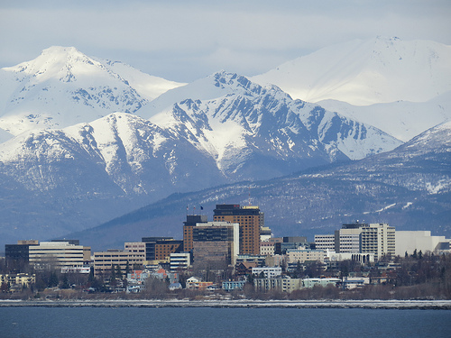 Downtown, Anchorage, Alaska. Photo: Accretion Disc, used under Creative Commons License (By 2.0)