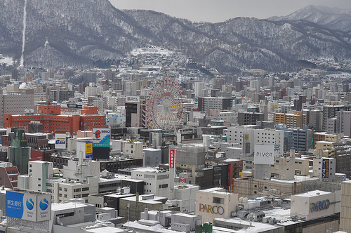 Sapporo, Japan - Photo: David McKelvey, used under Creative Commons License (By 2.0)