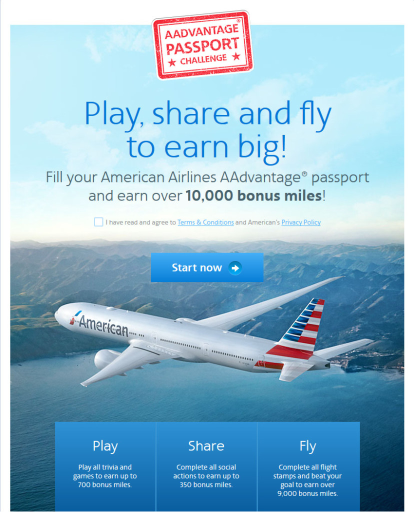 American: Up To 1,050 Free AAdvantage Miles
