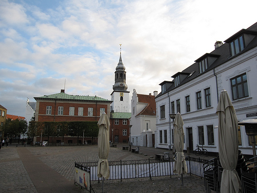 Aalborg, Denmark. Photo: Bernt Rostad, used under Creative Commons License (By 2.0)