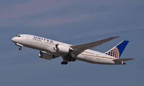 United Airlines' Boeing 787-8 Dreamliner - Photo: InSapphoWeTrust, used under Creative Commons License (By 2.0)