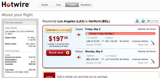 The Flight Deal | American – $197: Los Angeles – Hartford ...