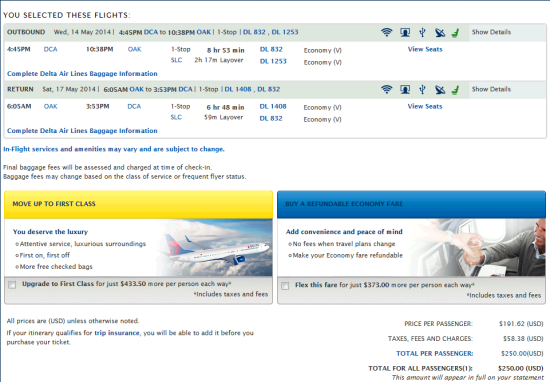 The Flight Deal | Delta – $250: Washington D.C. – Oakland ...