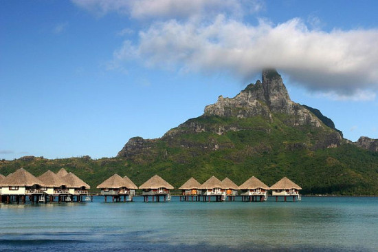Bora Bora, French Polynesia Photo: Benoit Mahe, used under Creative Commons License (By 2.0)