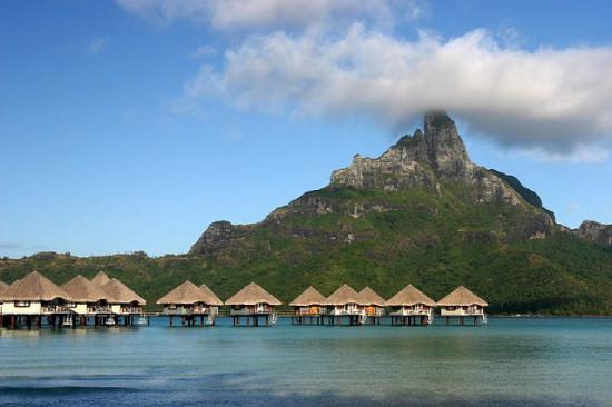 Bora Bora, French Polynesia Photo: Benoit Mahe, used under Creative Commons License (By 2.0)