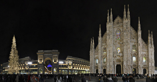 Piazza del Duomo - Milan, Italy - Photo: Foto di Spalle, used under Creative Commons License (By 2.0)