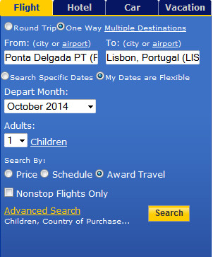 United search options
