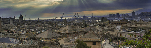 Genoa, Italy - Photo: Diego Cambiaso, used under Creative Commons License (By 2.0)