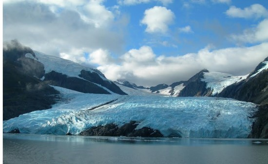 Portage Glacier, Alaska. Photo - Courtesy of Visit Anchorage (anchorage.net)