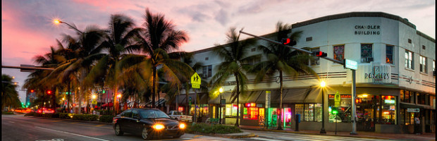 South Beach, Miami, Florida - Photo: szeke, used under Creative Commons License (By 2.0)