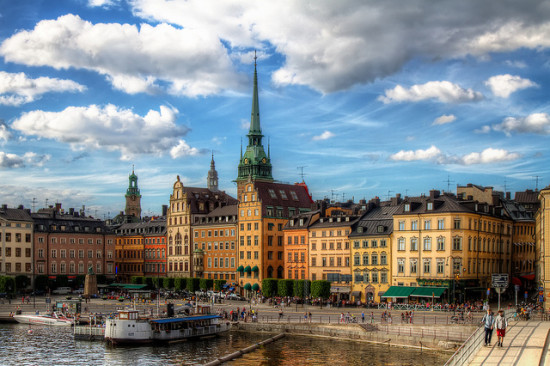 Stockholm, Sweden. Photo: szeke, used under Creative Commons License (By 2.0)