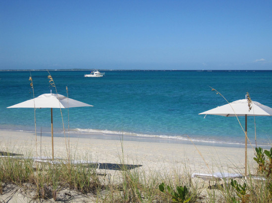 Grace Bay, Turks and Caicos - Photo: apascluto, used under Creative Commons License (By 2.0)