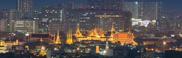 Grand Palace, Bangkok, Thailand - Photo: Prachanart Viriyaraks via Flickr, used under Creative Commons License (By 2.0)