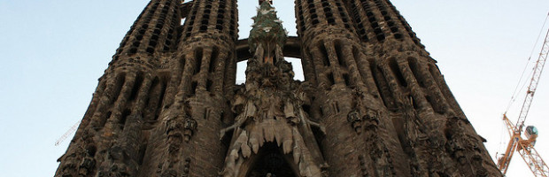 Sagrada Familia, Barcelona, Spain - Photo: Martin Fisch via Flickr, used under Creative Commons License (By 2.0)