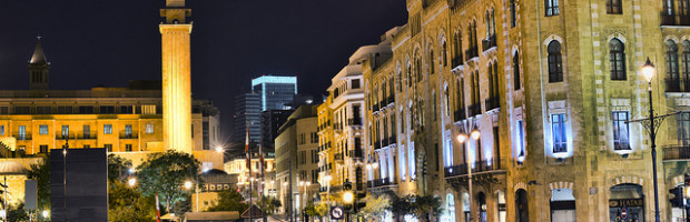 Downtown Beirut, Lebanon - Photo: Ahmad Moussaoui via Flickr, used under Creative Commons License (By 2.0)