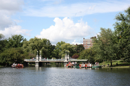 Boston Commons, Boston, Massachusetts - Photo: Karl Sullivan via Flickr, used under Creative Commons License (By 2.0)