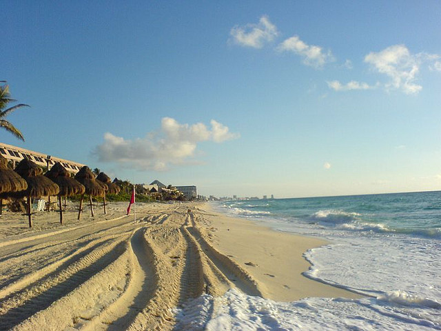 American – $280: Boston – Cancun, Mexico. Roundtrip, including all Taxes