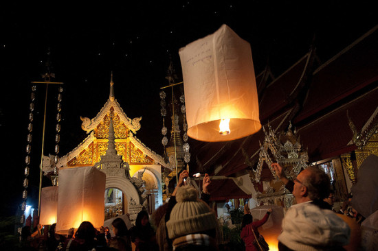 New Years Eve, Chiang Mai, Thailand - Photo: Andrea Schaffer via Flickr, used under Creative Commons License (By 2.0)