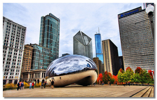 Millennium Park, Chicago, Illinois - Photo: Dhilung Kirat via Flickr, used under Creative Commons License (By 2.0)