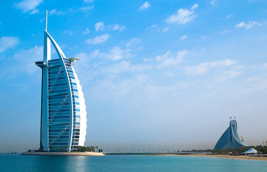 Burj Al Arab, Dubai - Photo: Joi Ito via Flickr, used under Creative Commons License (By 2.0)