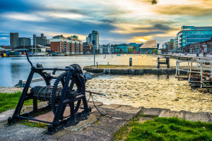 Sunset over the Grand Canal, Dublin, Ireland - Photo: Giuseppe Milo via Flickr, used under Creative Commons License (By 2.0)