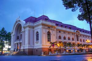 Saigon Opera House, Ho Chi Minh City, Vietnam - Photo: Jorge Láscar via Flickr, used under Creative Commons License (By 2.0)