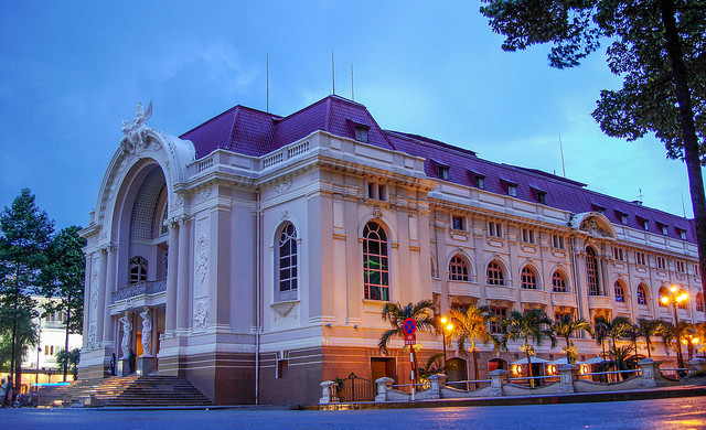 Saigon Opera House, Ho Chi Minh City, Vietnam - Photo: Jorge Láscar via Flickr, used under Creative Commons License (By 2.0)