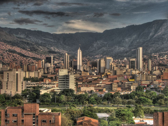 Medellin, Colombia - Photo: david peña via Flickr, used under Creative Commons License (By 2.0)