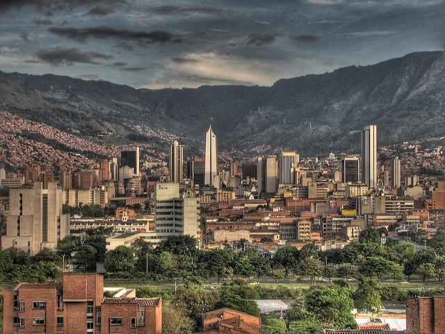 Medellin, Colombia - Photo: david peña via Flickr, used under Creative Commons License (By 2.0)