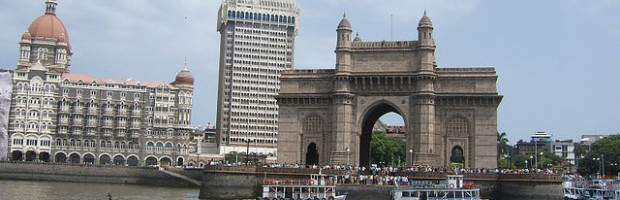 Gateway to India, Mumbai, India - Photo: Andy Hay via Flickr, used under Creative Commons License (By 2.0)
