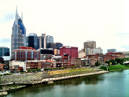 Riverfront, Nashville, Tennessee - Photo: Brad Montgomery via Flickr, used under Creative Commons License (By 2.0)