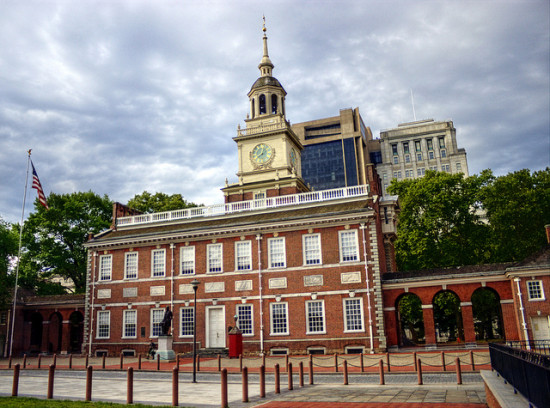 Independence Hall, Philadelphia, Pennsylvania - Photo: JD Thomas via Flickr, used under Creative Commons License (By 2.0)