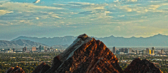 Skyline, Phoenix, Arizona - Photo: Tyler Bolken via Flickr, used under Creative Commons License (By 2.0)