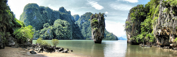 James Bond Island, Phuket, Thailand Photo: Jo@net via Flickr, used under Creative Commons License (By 2.0)